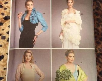 Vogue 9045 Bolero and Shawl, Large-XL, Unopened, Evening Wrap