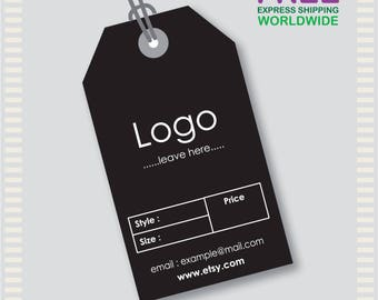 1000 Pcs Custom Hang Tags, Custom Clothing Labels, Custom Clothing Hang Tag, Cheap Hang Tags, Price Tag, Bar code Tag, Brand Tag