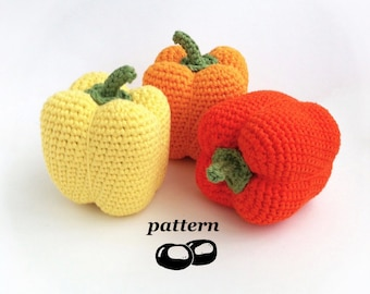 Amigurumi Vegetable Patterns : Crochet vegetables patterns crochet food crochet