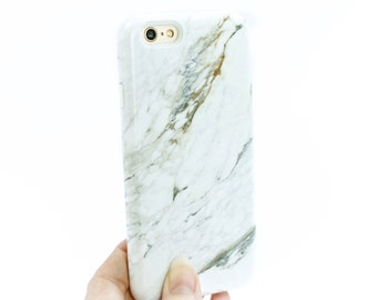 iPhone 8 Plus Case Marble iPhone 7 Case White Marble iPhone X Gift Galaxy S9 Plus