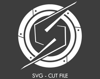 "Samus ""Mighty S"" - SVG Vector Cut file"