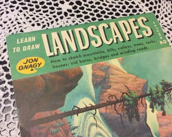 1950's Learn to Draw Landscapes with Jon Gnagy