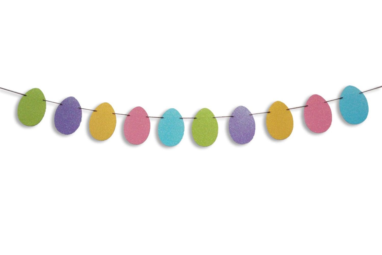 Easter Egg Garland Easter Egg Banner Easter decoration