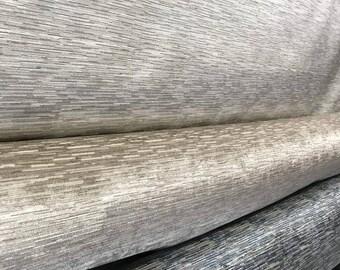 Cut Velvet Fabric Sand