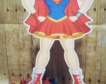 Superhero Girls Centerpieces |Superhero Girls Birthday | Superhero Girls | Super girl | Centerpiece