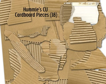 Commercial Use Cardboard Pieces
