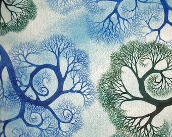 Spiral Branches Study II an original watercolor