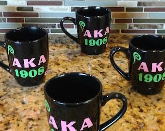 AKA Greek Coffee Mug