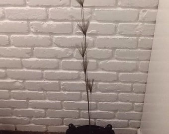 Mid Century Modern Curtis Jere Tall Spray Sculpture