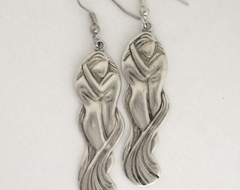 Embrace Earrings-Sterling Silver