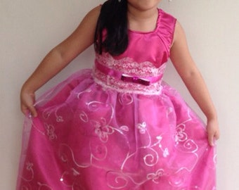 Inspired by Barbie and the pop star princess dress