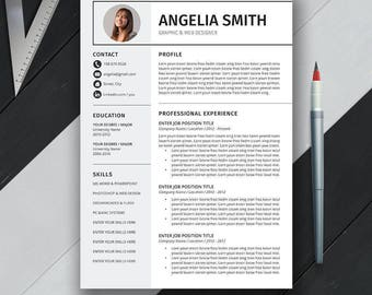 resume template us
