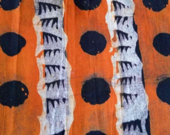 G 028 - genuine Batik handmade Ghana