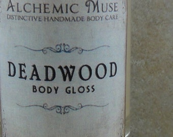 Deadwood - Body Gloss - Wild Honey, Golden Amber, Worn Brown Leather