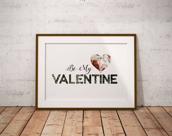 Downloadable Valentine Collage