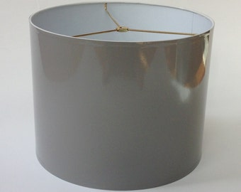 High Gloss Gray Lamp Shade Lampshade