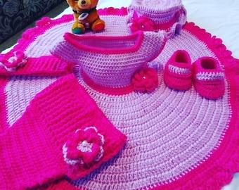 Hot Pink clothing set