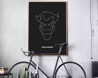 Batman - Minimal Movie Poster - Movie Print - Film Poster