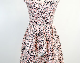 The 1940's Atelier Day Dress - Fans