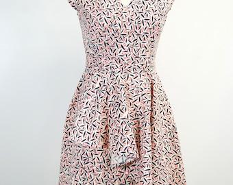 The 1940's Atelier Day Dress - Fans