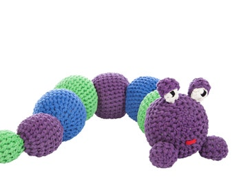 Colorful Caterpillar Fred Pattern for RibbonXL