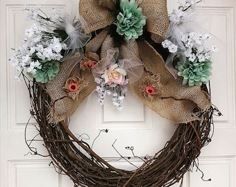 Spring Array Wreath
