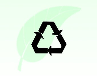 Recycle Symbol Vinyl Decal Sticker 113