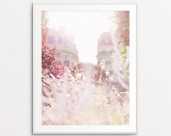 Paris Photography, Paris Morning Light, Paris Print, Paris Bedroom Decor, Paris Photo, Paris Decor, Fine Art Photograph, Paris Wall Art