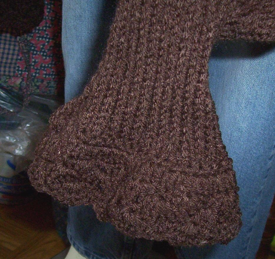 Butterfly Design Shrug Pattern (Bond Knitting Machine) from ...