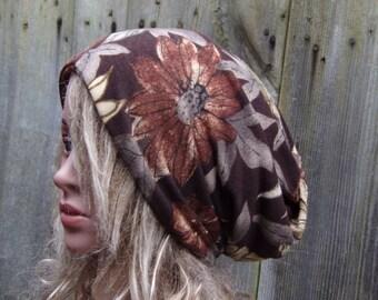 TAM WOMEN Ladies Slouchy Hat Spring Summer Fashion Mom Beanie Hat Summer day gift Fashion Cotton knitwear Cool Tam Cap Boho Modern Hippie