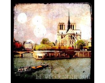 Notre Dame, Paris, France, 8x8 Fine Art Print, Ttv Inspired