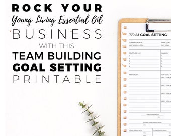 SILVER Team Goal Setting Worksheet || Download