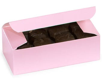 Pink  Candy Box, Pink  1/2 lb candy box, wedding, gift wrap, packaging ,Favors, Decorating
