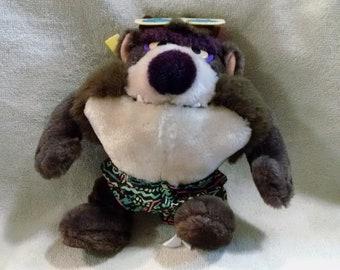 Fun Tasmanian Devil Plush Toy with Sunglasses