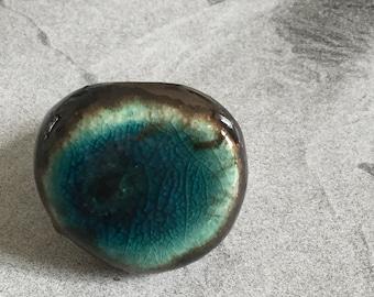 Bright Colored ceramic Ring