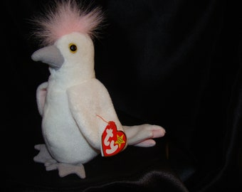 "Ty Beanie Baby ""KUKU"" retired, with errors!"