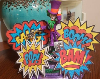 The Joker created from the mad hatter