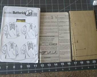 Butterick B4486 size XN Costume Renaissance sewing Pattern