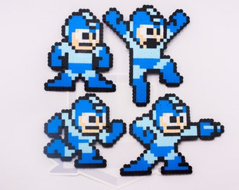 Megaman Perler Bead Sprites (Choose one!) || Gaming, Accessory, Wearable, Gift