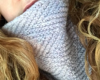 KNITTING PATTERN Cowl ZigZag Knitting Pattern Short Cowl Long Cowl Teenager Fashion Ideal for Beginners Winter Accessory