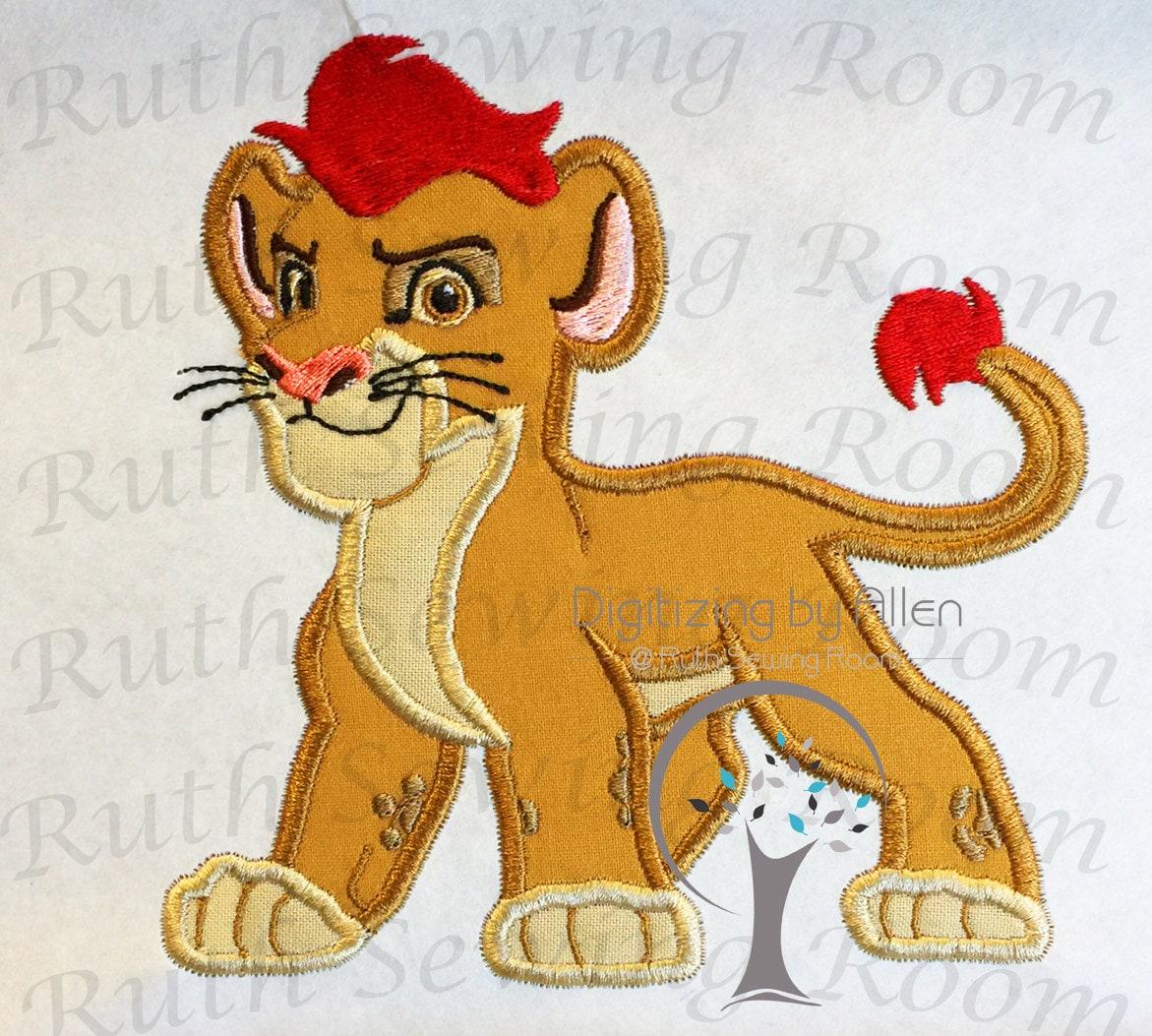 Lion Guard Embroidery Design