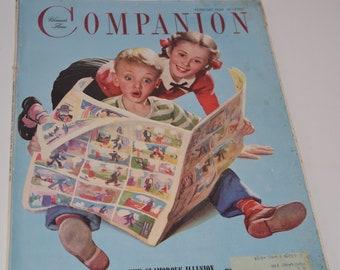 Vintage February 1949 Woman's Home Companion Magazine