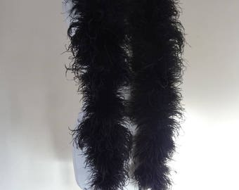 20's Ostrich Boa. long and Decadent.