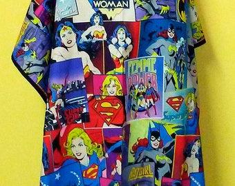 Wonder Woman Shero/SheroesHair Salon Cutting Cape 100% Cotton