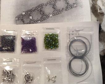 CLOSE-OUT Fairy's Web Bracelet Bead Kit