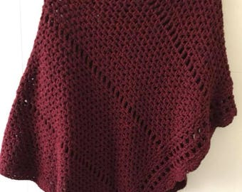 Hot Wool Poncho