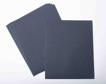 6x Sheets Grit 2000 Wet And Dry Sandpaper P2000 Ultra Fine Sand Paper - Free P&P