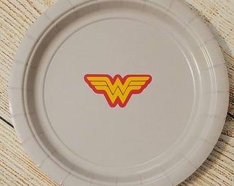 Wonder woman napkins Etsy