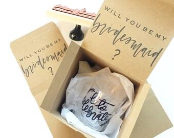 Will you be my bridesmaid box?