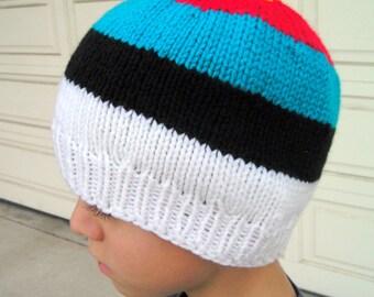 Bullseye Beanie ~ Knit Archery Target Hat